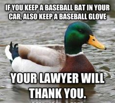 :D  Most of my friends need to keep a shooting target in the trunk then.....