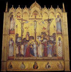 The Crucifixion, c.1368, Jacopo di Cione