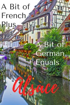 When you take a little bit of France and add a little bit of German you come up with the French region of Alsace. It's enchanting!! #travel #alsace #france #francetravel #europetravel #wanderyourway
