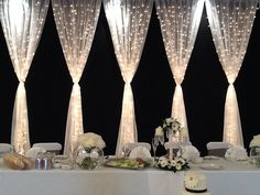 Boho Loves: More Weddings - Wedding Decor with a Difference. Fabric draping and prop hire for any kind of wedding.