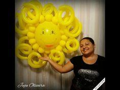 Sol de Balões(Passo a Passo)