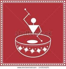 simple warli painting for kids - Google Search