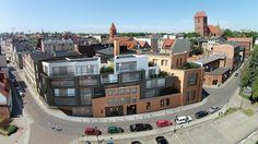 Old Brewery residential building, Torun, Poland, Sobocinski Architekci
