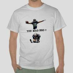 You Mad Bro Seahawks Shirt | ... Sherman Tshirt Seattle Seahawks Football Tom Brady You Mad Bro | eBay
