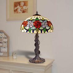Lámpara de mesa Rosy Tiffany