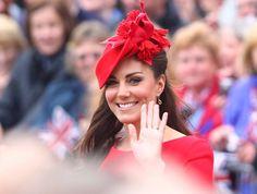 Catherine, Duchess of Cambridge, aka Kate Middleton  The Queen's Diamond Jubilee River Pageant Flotilla  London, England - 03.06.12