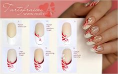 Nail art step by step By Tartofraises