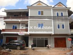 $3,000 pcm - Apartment block for rent located in Svay Dangkum commune, Siem Reap city. It has 12 bedrooms, garden, semi-furnished and a parking area. Every bedroom comes with air-con and an en-suite bathroom with hot water. Moreover, the living room comes furnished and a set of nice sofa and the kitchen is big with ample space for …