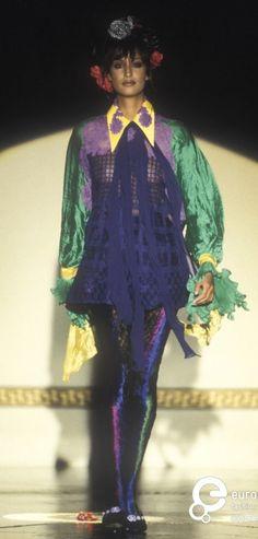 Yasmeen Ghauri - Atelier Versace. F/W 1993