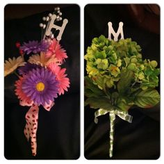 "dance recital bouquets for Callie's ""big girls"""