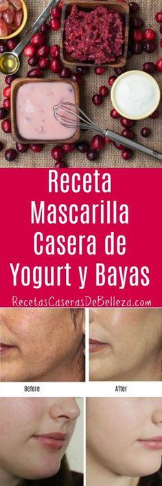 Mascarilla Casera de Yogurt