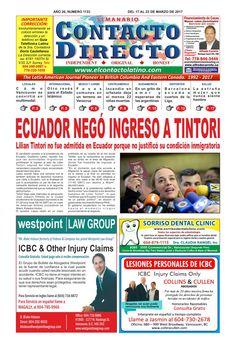 SEMANARIO CONTACTO DIRECTO EDICIÓN 03/17/2017