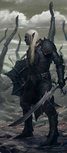 17 Ideas for concept art fantasy warrior elves Dark Fantasy, Fantasy Rpg, Medieval Fantasy, Fantasy Artwork, Fantasy World, Elves Fantasy, Fantasy Concept Art, Final Fantasy, Fantasy Warrior