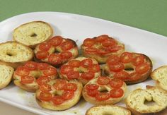 Now the Friselle of my childhood were very peppered and looked like little hard as rocks Italian breads LOL and ate with Italian soup. I ate mine dunked in coffee.recipe image