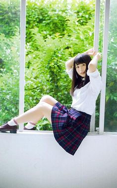 Born: September 1998 (age Nagasaki, Nagasaki Prefecture Height: 159 cm Albums: Masshiro na Mono wa Yogoshitaku naru Music group: (Since School Uniform Fashion, School Uniform Girls, Girls Uniforms, High School Girls, School Girl Japan, Japan Girl, Cosplay, Japanese School Uniform, Beautiful Japanese Girl