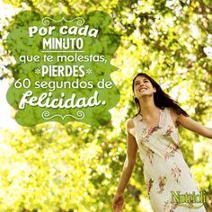 Aprovecha cada minuto que la vida te regala. #Quote