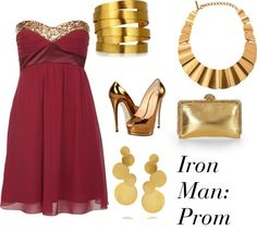 """Iron Man: Prom"" by winterlake25 on Polyvore"