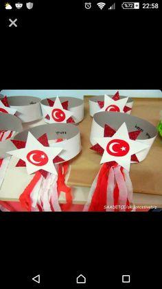 23nisana 3d Paper Crafts, Diy And Crafts, Crafts For Kids, Arts And Crafts, Preschool Curriculum, Preschool Art, Preschool Activities, Petite Section, Carnival Crafts