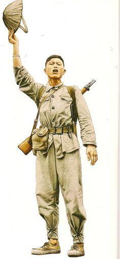 Soldat nord-vietnamien, 1954