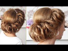 Multiple hair tutorials on one video.  22.30--I want to try!   Подборка уроков - Причёски в греческом стиле (time 28:23) - YouTube