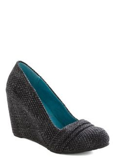 Right and Deft Wedge, #ModCloth