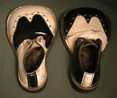 Antique clown shoes from the 30's