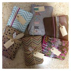 wrapping gifts · empaques de regalo · papeles de regalo · wrap it