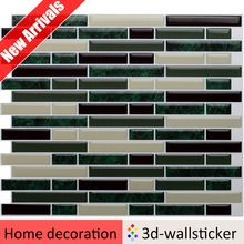 Peel and stick backsplash tile supplier in China Dongguan Seorydeco Dongguan, Vinyl Wall Tiles, Self Adhesive Wall Tiles, Easy Mosaic, Tile Suppliers, Stick On Tiles, Mosaic Tiles, Mosaic Art, Backsplash Tile