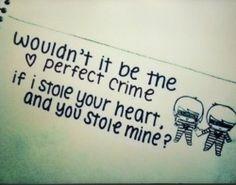 Pinterest: @icristy13| cheesy, but cute