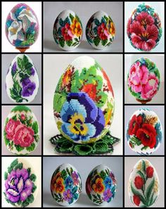 We think you might like these boards Egg Crafts, Crafts To Do, Easter Crafts, Peyote Patterns, Beading Patterns, Beaded Ornaments, Christmas Ornaments, Beaded Boxes, Diy Ostern
