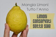 limoni conservati sotto sale