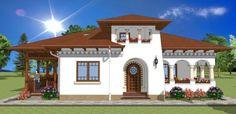 Proiecte de case cu cerdac frumos
