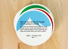 World cup football goal game paper by MessProject, Awkward Quotes, Funny Coasters, Eco Friendly Paper, 10 Year Old, Way Of Life, Paper Goods, Coffee Shop, Goal, Football