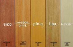 Luxol Originál - lazúra na drevo bez laku