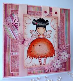 Janes Lovely Cards : Gorjuss Girls