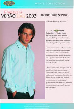 Informativo Verão 2003: produção feita na época com o ator, estreante na Rede Globo, Henri Castelli