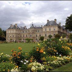 The gorgeous Luxembourg Gardens #paris