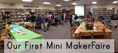 Our first Mini MakerFaire was a great success - parents and students loved it! We had printing demos, DIY slime and playdoh, Perler bead art, Snap Circuits and more! Earth Science Projects, Science Activities For Kids, Science Kits, Science Fair, Science Demonstrations, Fun Moves, Snap Circuits, Science Equipment, Student Volunteer