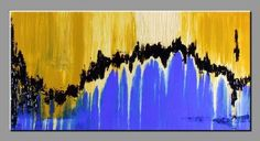 120 x 60 MODERN ABSTRACT PAINTING CONTEMPOARY ART TEXTURED