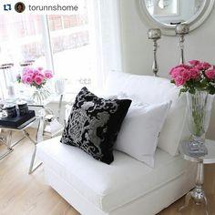 Delikat vårlig og lekkert hos vår kunde @torunnshome   #Fioripute fra @classicliving  #pickoftheday #igoftheday #like4like #like4follow #livingroom #interior #interiør #home #interior123 #decor #fioripillow #furniture #glam #classyhome #design