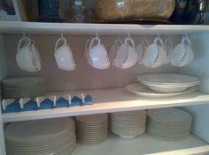 Teacup Hooks for Hemnes Cabinet