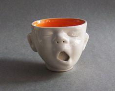 242 best Clay - Face jugs/mugs/etc. Ceramic Cups, Ceramic Pottery, Pottery Art, Ceramic Art, Pottery Mugs, Pottery Ideas, Ceramics Projects, Clay Projects, Cerámica Ideas