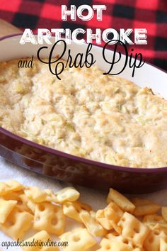 This recipe for Hot Artichoke and Crab Dip is perfect for holiday entertaining and even game day parties.