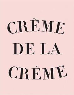 Crème de la Crème Inspirational Wall Prints, Motivational Art for Office Decor…