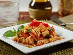 Recipe Slow Cooked Barilla Plus® Rotini Spring Ratatouille with Basil and Pine Nuts - Barilla