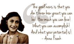 anne frank quotes good news google search hurt quotes strong women diary quotes