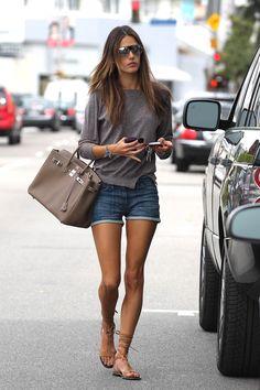Alessandra Ambrosio Summer style