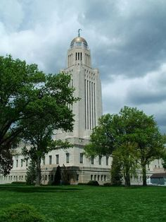 Nebraska State Capitol, Lincoln, Nebraska I lived in Lincoln for a short time, it was a wonderful town.