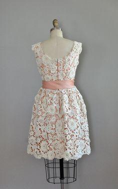 r e s e r v e d...vintage 1960s Norman Norell lace by DearGolden