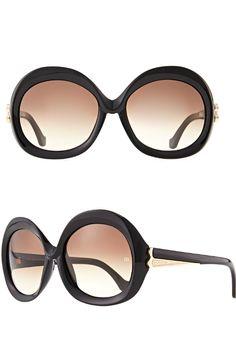 f09fcb75d72fe Balenciaga ○ SS 2014, Over-sized Round Sunglasses Discount Sunglasses, Ray  Ban Sunglasses